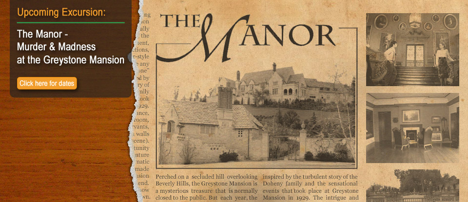 The Manor - Murder & Madness at the Greystone Mansion