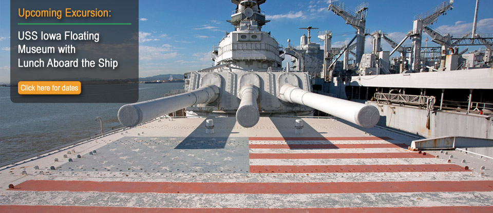 USS Iowa Floating Museum with Lunch Aboard the Ship