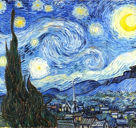 starry night van gogh essay The starry night by vincent van gogh is one of the most well-known paintings in the world it is beautiful and complex, yet plain and boring like the man.