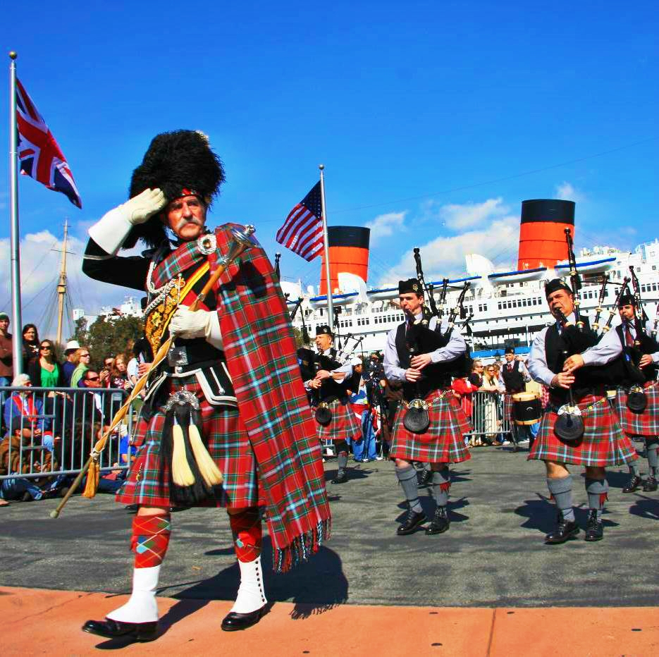Scottish Festival At The Queen Mary Don T Mind If Aye Do